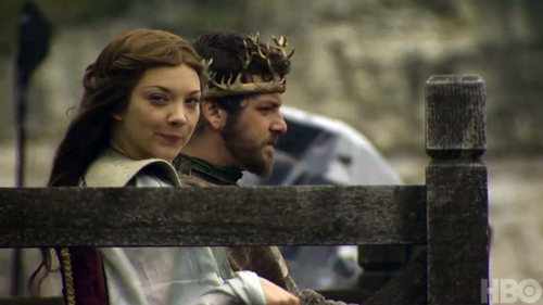 Renly and Margaery Tyrell