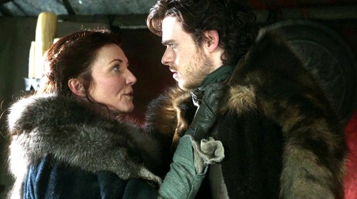 Robb and Catelyn