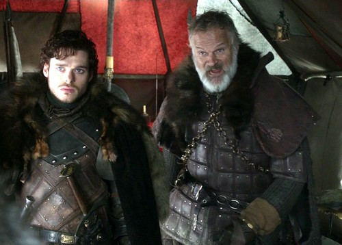 Robb and Greatjon Umber