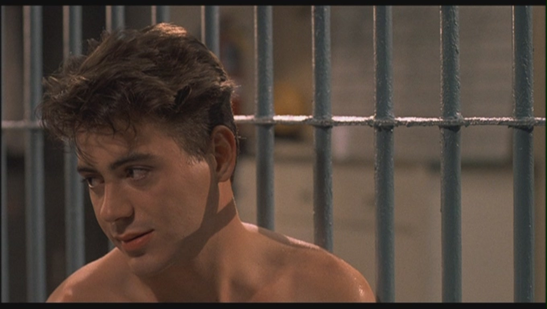 Robert Downey Jr. as Leo Wiggins in 'Johnny Be Good'