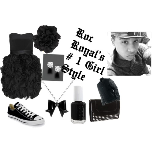 Roc Royal's 1# Number Girl Look ;)