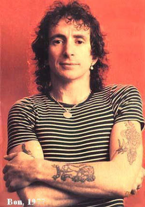"Ronald Belford ""Bon"" Scott (July 9, 1946 – February 19, 1980)"