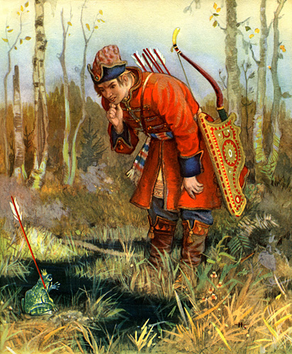 Old Russian Fairy Tales Say 25