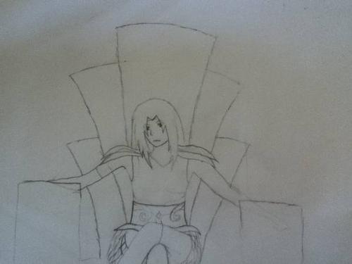 Sakura-chan drawing