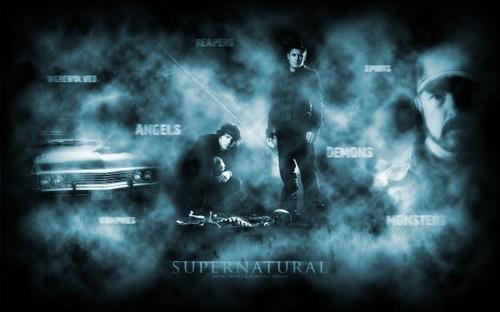 Sam-Dean-Bobby (Supernatural)