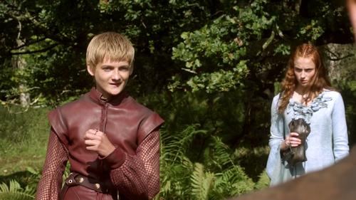 Sansa and Joffrey