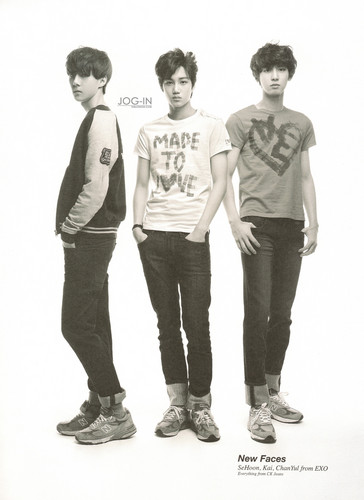 Se Hun, Kai, Chanyeol