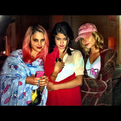 Selena Gomez, Ashley Benson and Rachel Korine