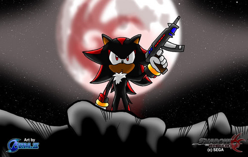 Shadow will find you. - shadow-the-hedgehog Photo