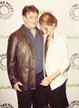 Stana and Nathan on PaleyFest 2012 - stana-katic photo