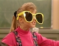 Stephanie with huge sunglasses - stephanie-tanner photo