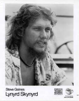 Steven Earl Gaines (September 14, 1949 – October 20, 1977)