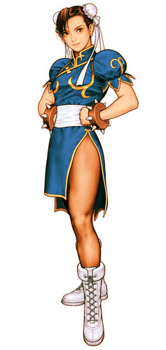 街, 街道 Fighter Chun Li