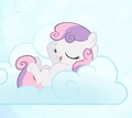 Sweetie Belle does not have a horn!