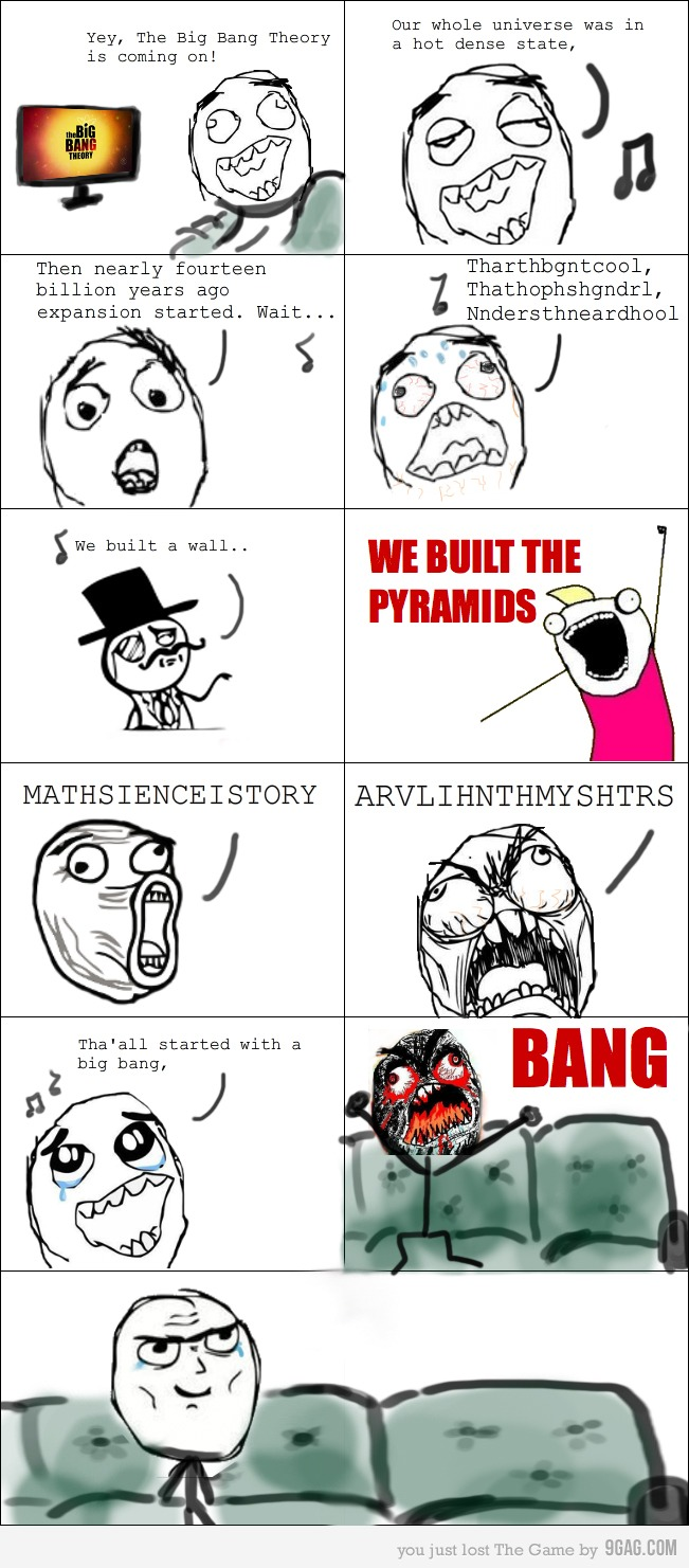 The big bang theory tbbt theme song with memes