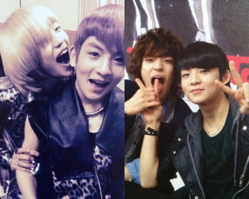 Teen Top NielRick - Niel trying to eat his dongsaeng  - teen-top Photo