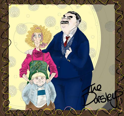 The Dursleys por _Ellziepaw