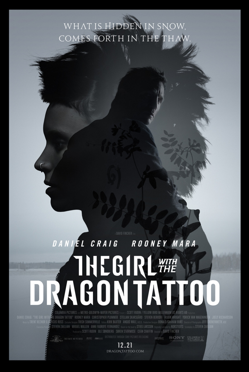 the girl with the dragon tattoo poster the girl with the