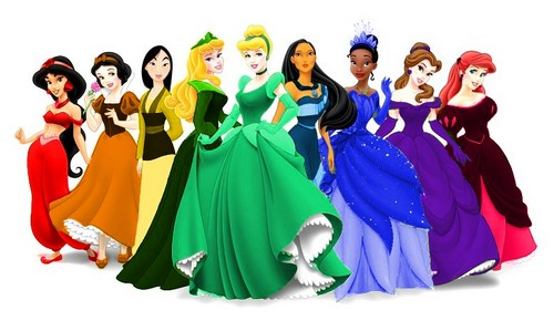The Multicoloured Princesses - disney-princess Photo