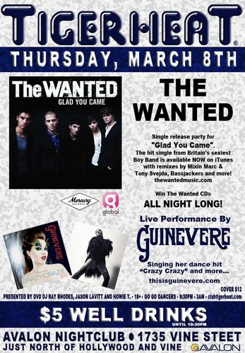 The Wanted CD Release Party in LA