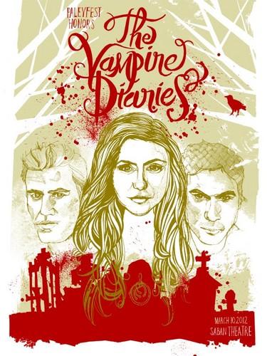 The vampire diaries poster <3