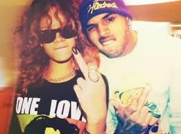 Chris Brown and Rihanna wallpaper with a portrait titled They're back together! 2012