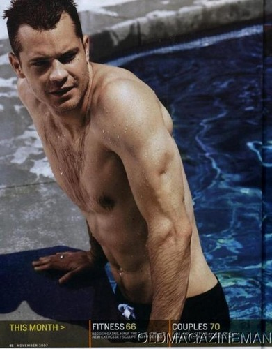 Timothy Olyphant 壁紙 probably with a six pack and a 大きな塊, ハンク called Timothy Olyphant