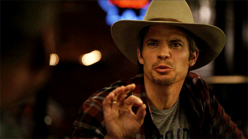 Timothy Olyphant wallpaper with a snap brim hat, a fedora, and a campaign hat called Timothy Olyphant
