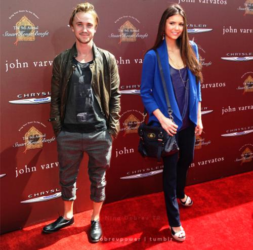 Tom Felton & Nina Dobrev