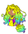 Topaz .:Flat colors:. - blazeandarose photo