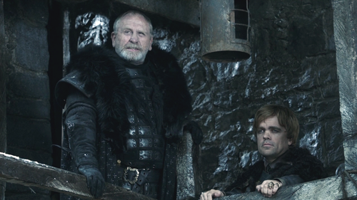 Tyrion Lannister and Jeor Mormont