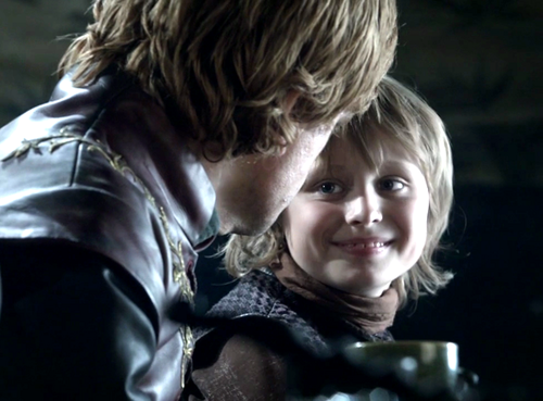 Tyrion and Tommen