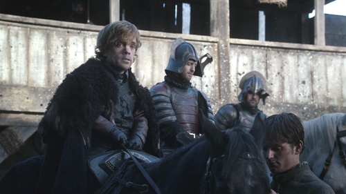 Tyrion and soldiers