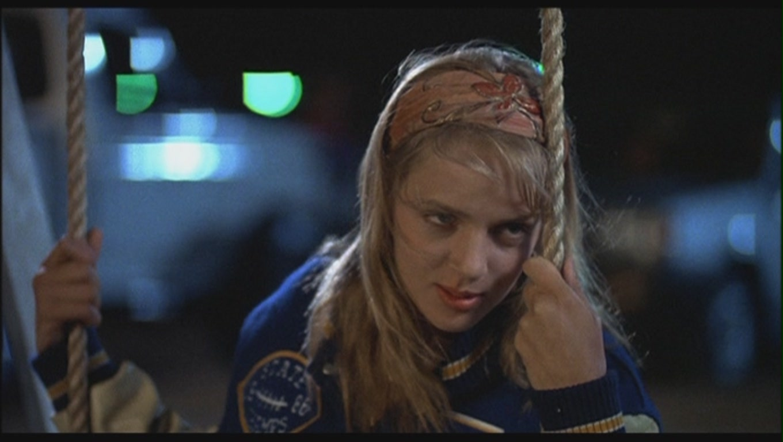 Uma Thurman as Georgia Elkans in 'Johnny Be Good' - Uma ... Uma Thurman Movies