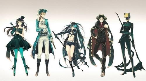 Various Anime