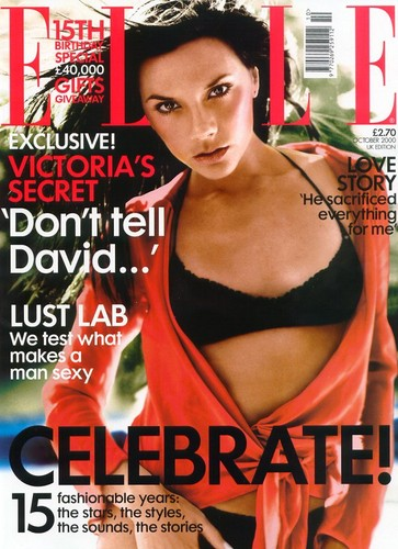 Victoria Beckham: Elle Magazine Shoot