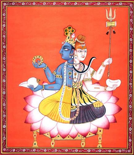 Vishnu and Shiva