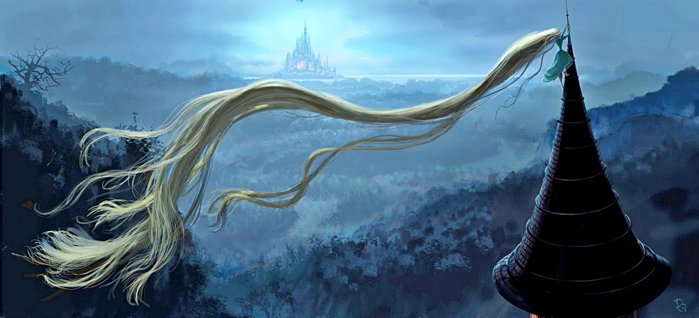NAVER まとめ「塔の上のラプンツェル」コンセプトアート。ディズニーのアニメーターが描いた魅力的な…