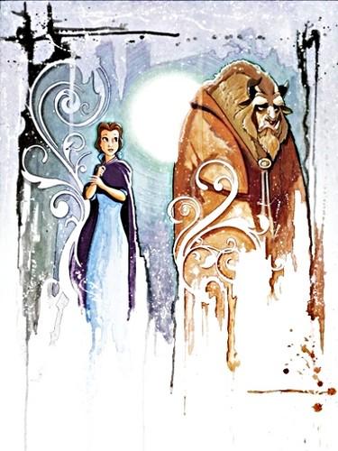 Walt Disney Limited Edition Giclee - The Curse