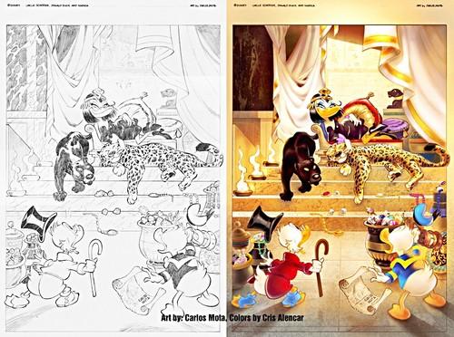 Walt डिज़्नी Posters - Trouble in Egypt