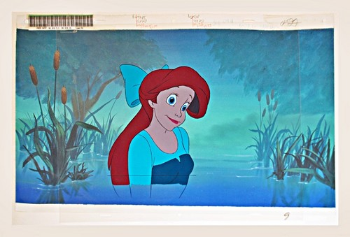 Walt Disney Production Cels - Princess Ariel