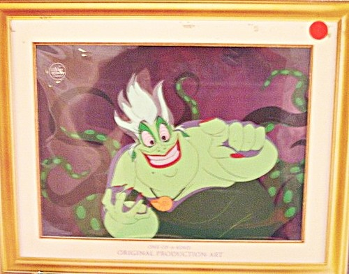 Walt Disney Production Cels - Ursula