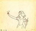 Walt Disney Sketches - Princess Snow White