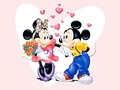 Walt Disney Wallpapers - Minnie Mouse &amp; Mickey Mouse - walt-disney-characters wallpaper