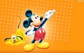 Walt disney wallpaper - Pluto & Mickey mouse