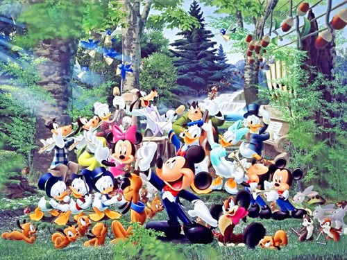 Walt Disney Characters wallpaper called Walt Disney Wallpapers - The Magic of Music
