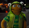 Walter, kermit costume! - walter-the-muppet photo