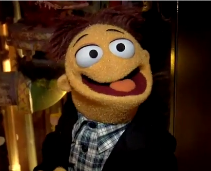 Walters impression of the muppet ancestors!