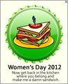 Women's Day 2012 Cap