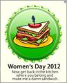 Women's araw 2012 takip